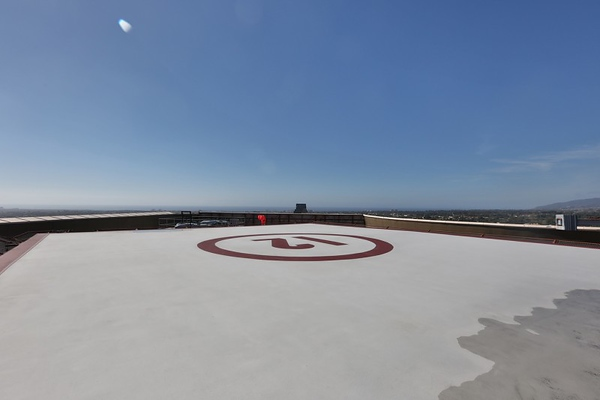 Helicopter Pad View # 1