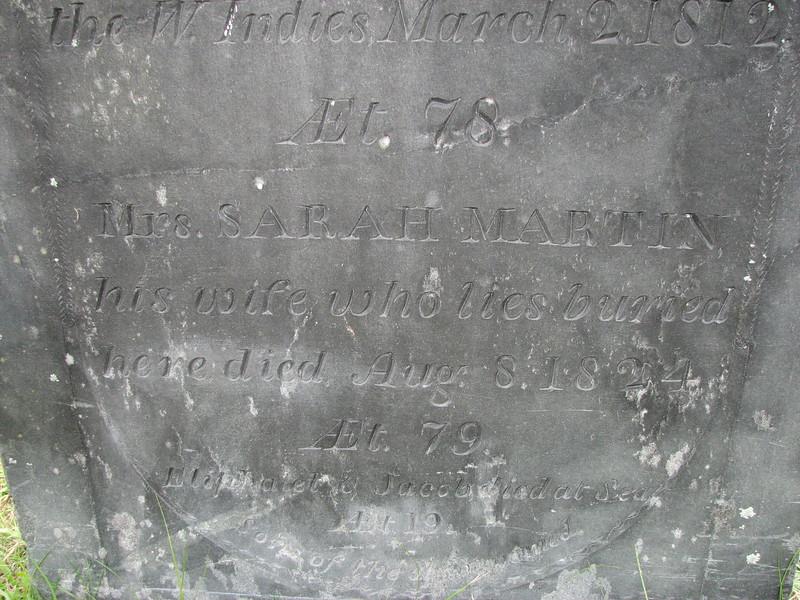 Bottom of the inscription