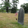 Martin's gravestone (actually a cenotaph) is in the Revolutionary War section of the cemetery.