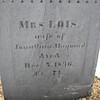 Engraving on Lois' stone