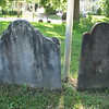 The grave of Joseph's parents, father Joseph on the left, mother Abigail on the right