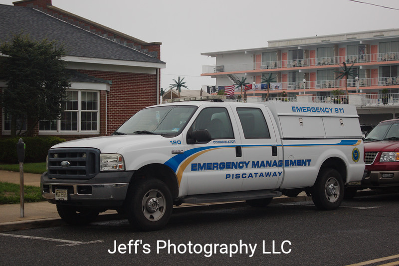 Piscataway, NJ Office of Emergency Management Coordinator Truck #120