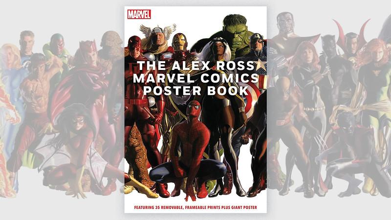The-Alex-Ross-Marvel-Comics-Poster-Book