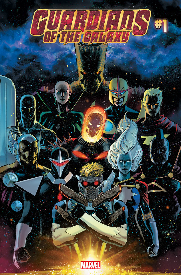 GUARDIANS OF THE GALAXY #1 takes a look at the aftermath following Thanos