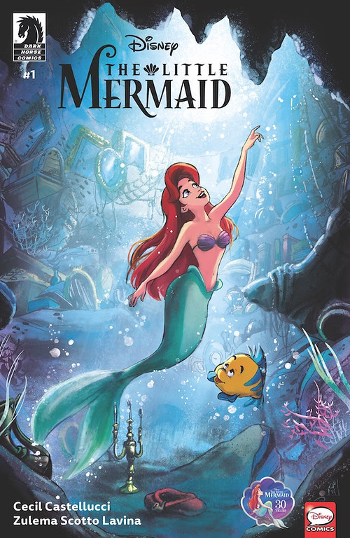 DARK HORSE announces Disney Princess expansion with THE LITTLE MERMAID