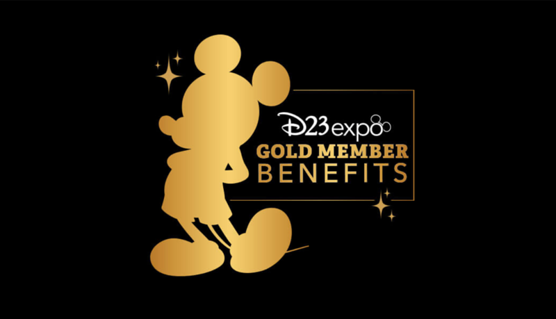 DETAILS: Gold Member Benefits include lounges, gifts, and more perks for #D23Expo!