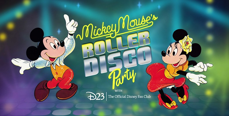 EVENT: D23 to offer 'Mickey Mouse's Roller Disco Party' for Gold-level members