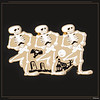 The Skeleton Dance (90 years)<br /> On August 22, 1929, the very first, very macabre Silly Symphony was released. Inspired by the brand-new advent of sound in cartoons (which debuted with Steamboat Willie in 1928), the Silly Symphonies were a musical way for Walt Disney and his artists to experiment with new animation techniques. After the successful debut of The Skeleton Dance, seven out of the series' 75 cartoons would go on to win Best Cartoon Academy Awards®!