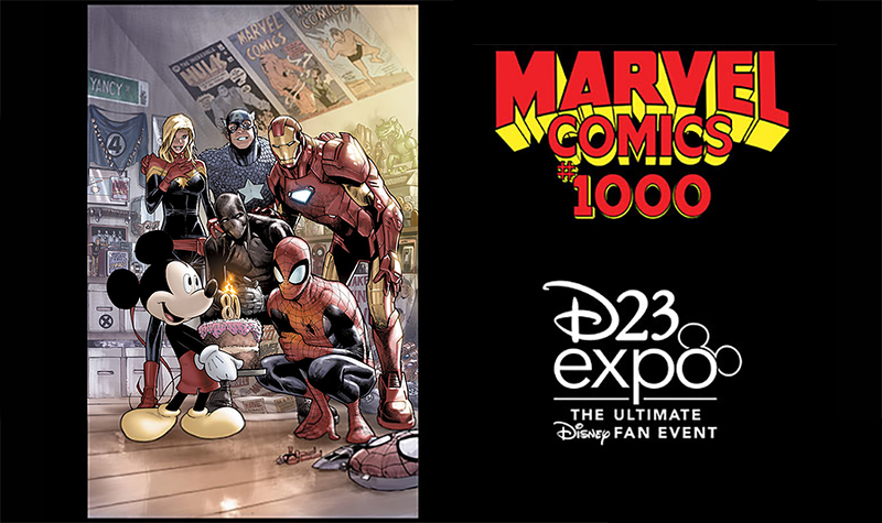 #D23Expo MARVEL COMICS panel giving away limited-edition variant cover to attendees!