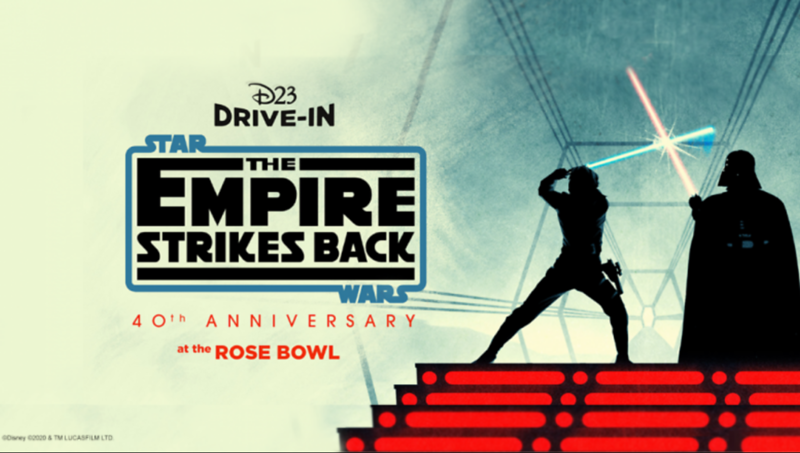 D23 Drive-In Star Wars The Empire Strikes Back at the Rose Bowl