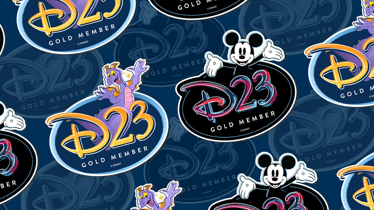 d23 GOLD MEMBER APPRECIATION complimentary magnet