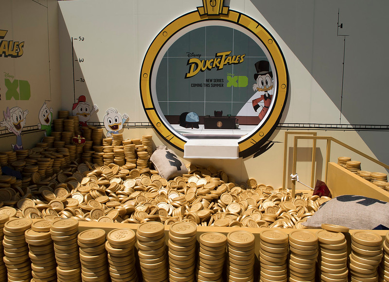 Swim in Scrooge McDuck's Money Bin plus more fun experiences confirmed for D23 Expo
