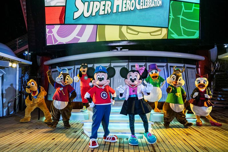 Mickey and Friends Super Hero Celebration