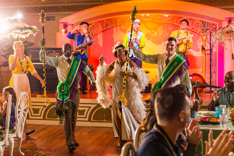 Tiana heads New Orleans-themed new lounge plus more re-imagined spaces aboard Disney Wonder