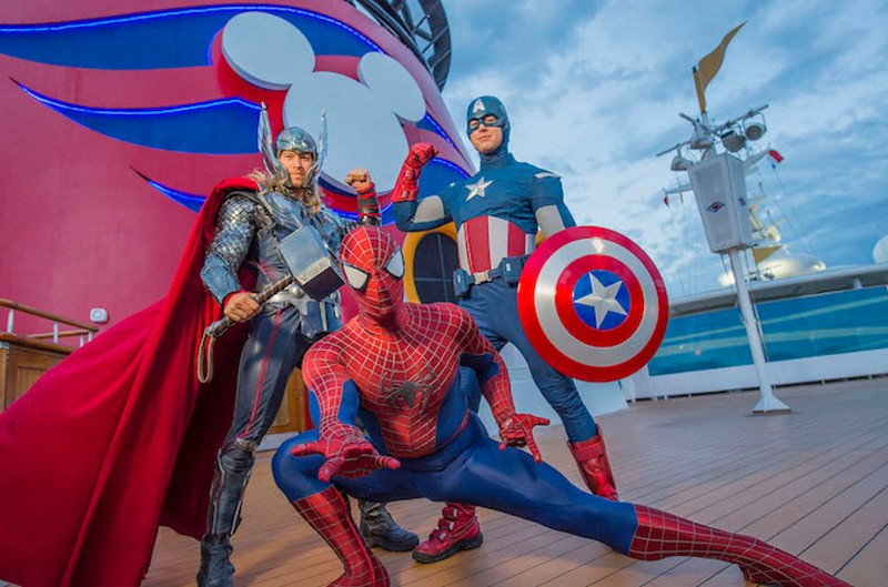 Get ready to assemble for 'Marvel Day at Sea' on select Disney Magic sailings from New York in Fall 2017