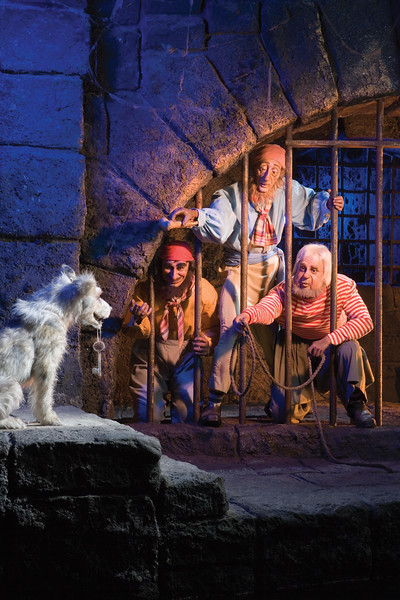 """PIRATES OF THE CARIBBEAN 50TH ANNIVERSARY (March 13, 2017) – Pirates of the Caribbean celebrates its 50th anniversary on Saturday, March 18, 2017, at Disneyland Park in Anaheim, Calif. Exciting festivities honoring its 50-year legacy begin Thursday, March 16 and include special food offerings, pirate-themed entertainment and appearances by Captain Jack Sparrow. Opened in 1967, the iconic attraction has inspired versions at five Disney Parks worldwide and five film adaptations from the successful """"Pirates of the Caribbean"""" film franchise. (Paul Hiffmeyer/Disneyland)"""
