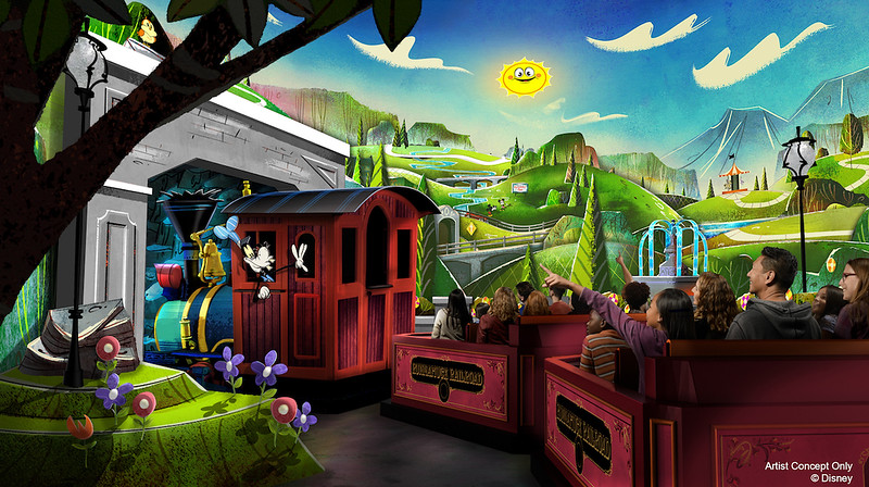 CONFIRMED: Mickey and Minnie steer new 'Runaway Railway' ride to Disneyland in 2022