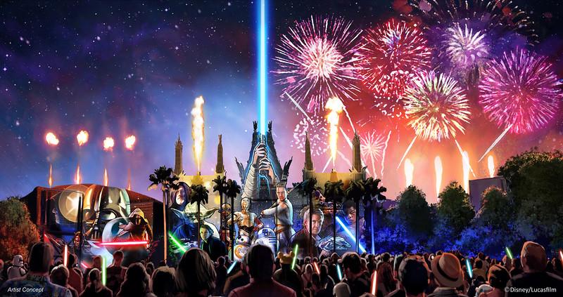 New <em>Star Wars</em> Nighttime Spectacular Coming to Disney's Hollywood Studios