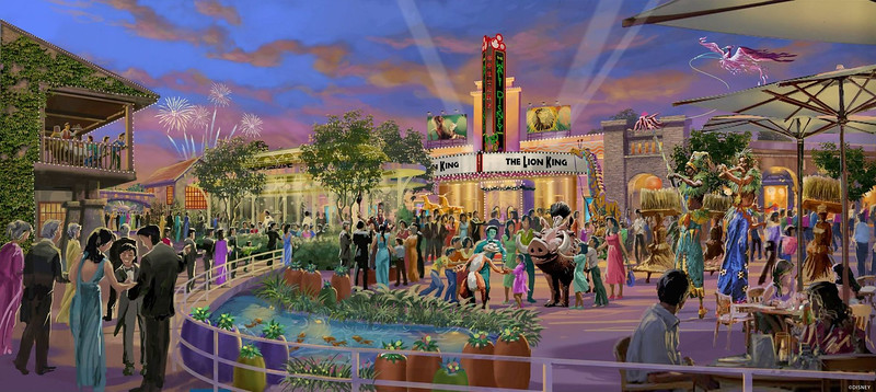 Cheesecake Factory and LEGO store coming to DISNEYTOWN in Shanghai Disney Resort