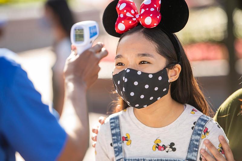 Temperature Screenings at Walt Disney World Resort Theme Parks