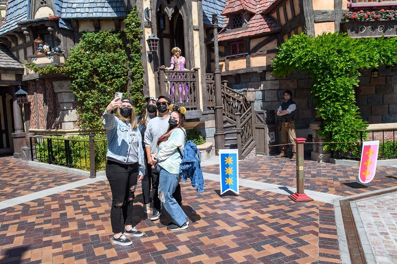 Magic Returns to Disneyland Resort Theme Parks - Rapunzel