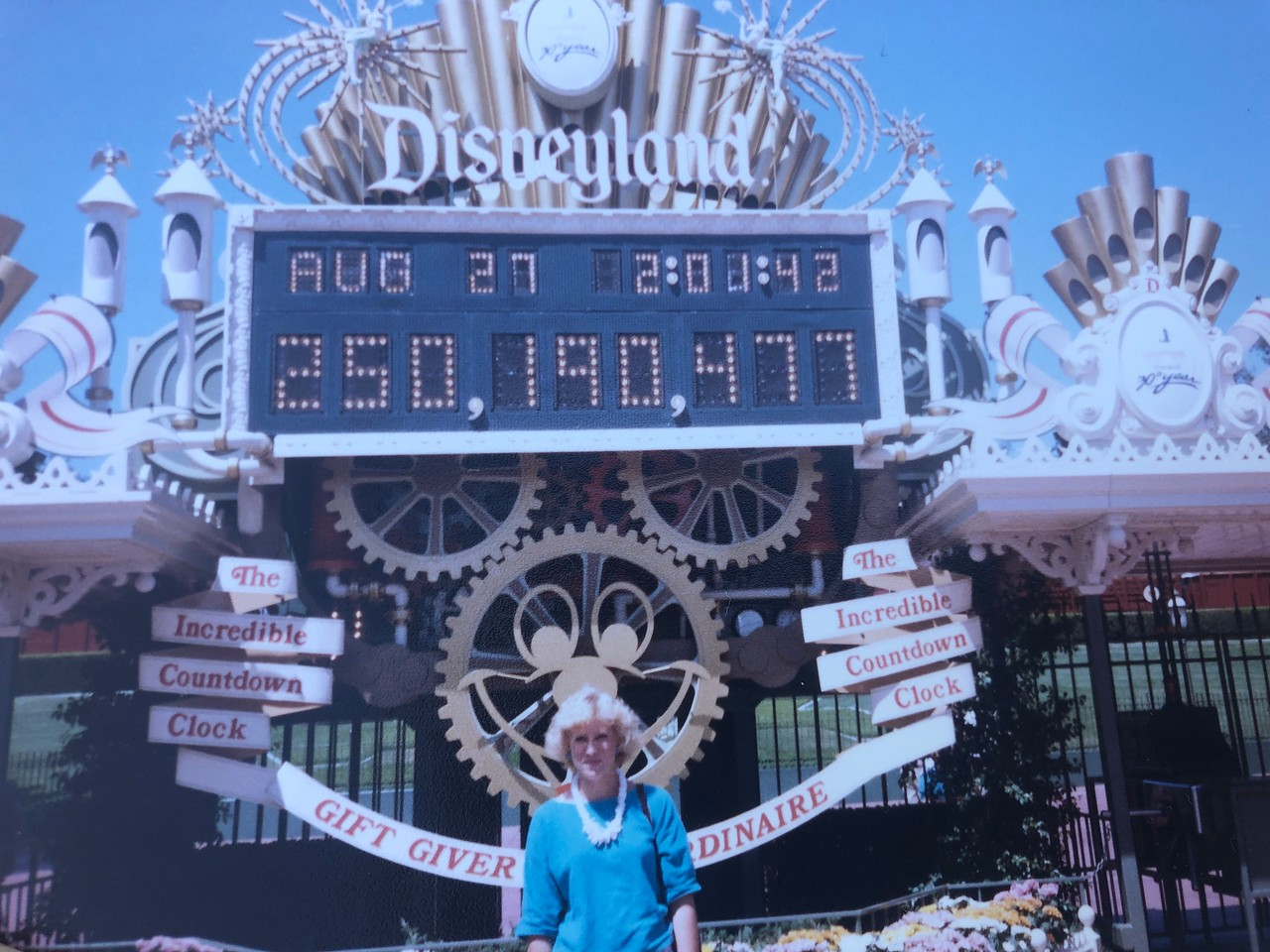 Canadian woman visits Disneyland using ticket she won more than 30 years ago!