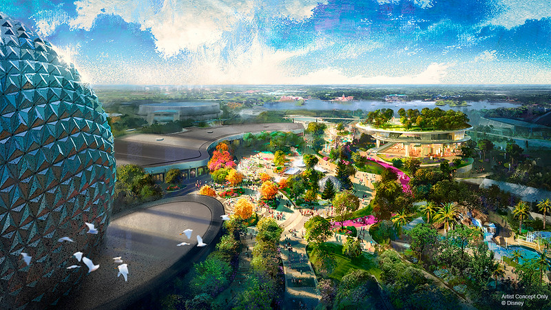 #D23Expo: Epcot's massive transformation will bring Moana, Poppins, updated Spaceship Earth, and more!