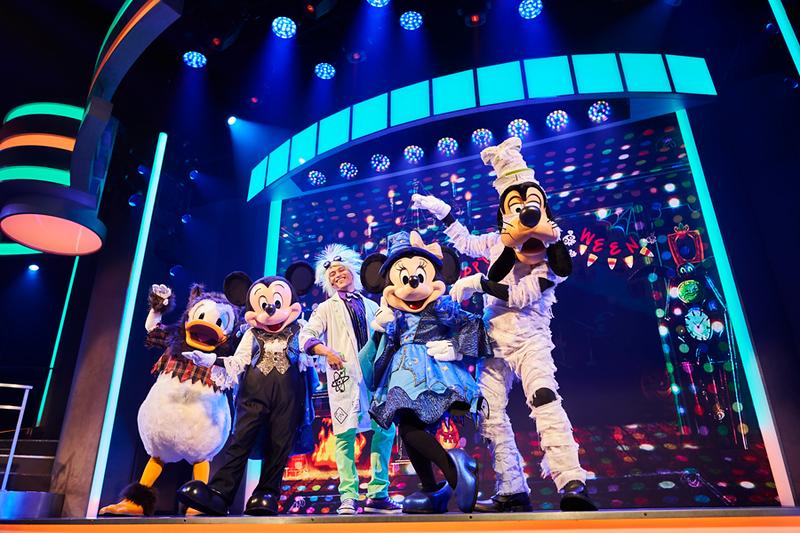Mickey's Trick & Treat oogie boogie bash disney california adventure