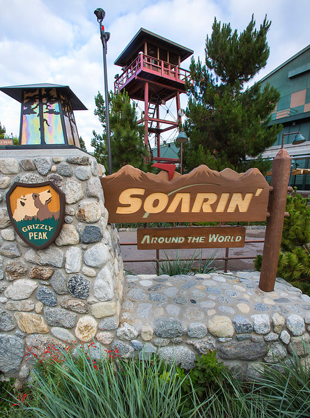 SOARIN' AROUND THE WORLD -- – Soarin' Around the World, a new experience based on the original Soarin' Over California attraction at Disney California Adventure, takes flight June 17, 2016 at the Disneyland Resort. The latest airborne adventure offers breathtaking scenes from locations around the world: along the Great Wall of China, over the snowy peak of the Matterhorn, through the majestic buttes of Monument Valley, hopping over the top of the Great Pyramids of Egypt, and across spectacular Sydney Harbour.