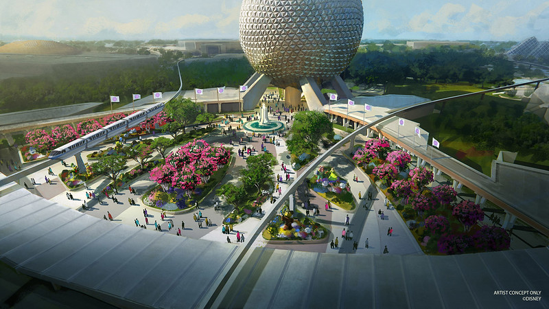 CONCEPT ART: EPCOT's new entrance, Wonders of Life pavilion, and more coming soon!