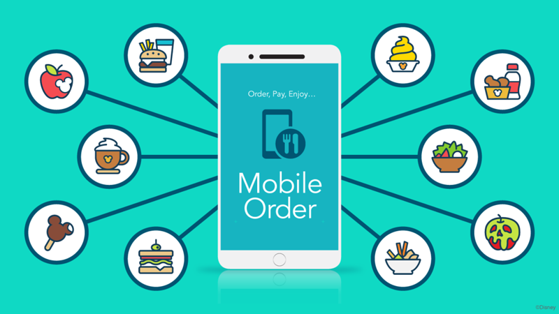 HOW TO: Use Mobile Order dining at Disneyland and Walt Disney World to save time in line!