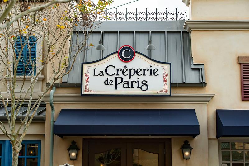 La Crêperie de Paris at EPCOT