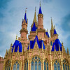 Cinderella Castle Receiving Royal Makeover at Magic Kingdom Park