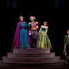 ANNA AND ELSA MEET THE DUKE OF WESELTON  IN 'FROZEN Ð LIVE AT THE HYPERION' -- A new theatrical interpretation for the stage based on DisneyÕs animated blockbuster film, Frozen is now playing at the Hyperion Theater at Disney California Adventure Park. The show immerses audiences in the emotional journey of Anna and Elsa with all of the excitement of live theater, including elaborate costumes and sets, stunning special effects and show-stopping production numbers. (Paul Hiffmeyer/Disneyland Resort)