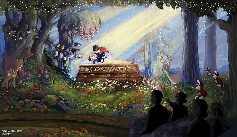 Disneyland confirms new details, scenes for SNOW WHITE'S SCARY ADVENTURES