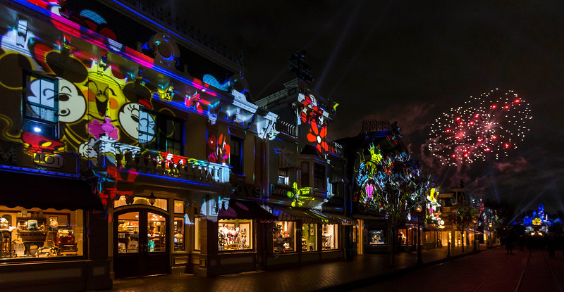 WATCH: Disneyland debuts new 'Mickey's Mix Magic' nighttime spectacle