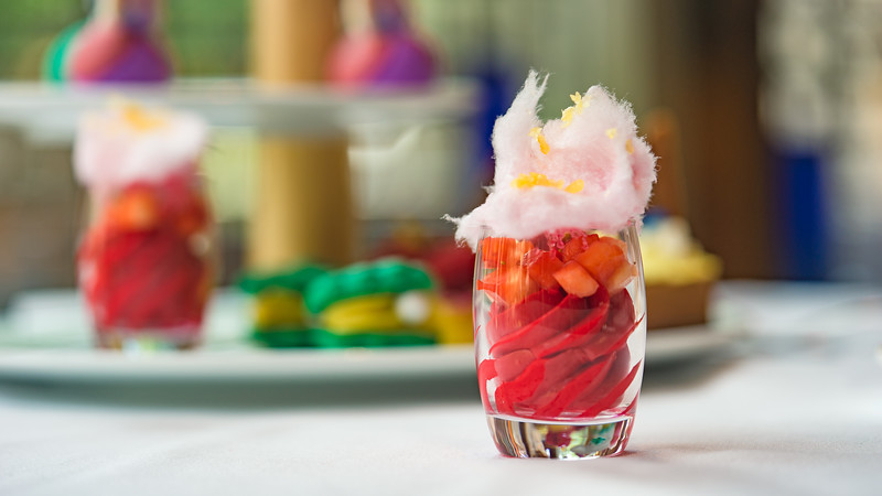 Disney Princess Breakfast Adventures at Disney's Grand Californian Hotel & Spa - Strawberry Honey Sorbet