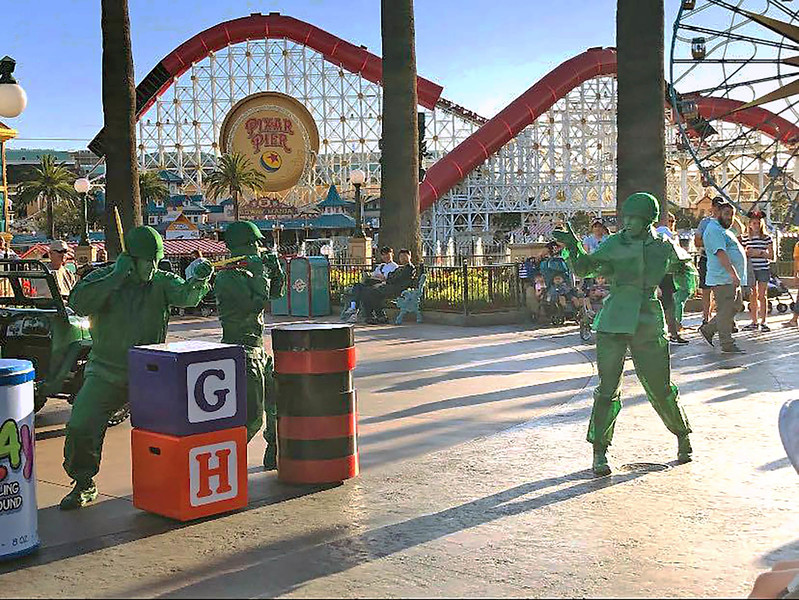 A-TEN-HUT! Women join the ranks for the first time at Disney California Adventure show