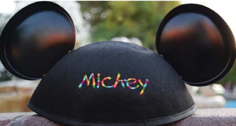Rainbow threading for Ear Hat embroidery to be offered exclusively during #GayDays