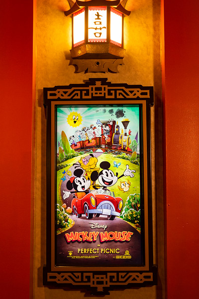 'Perfect Picnic' Poster in Mickey & Minnie's Runaway Railway