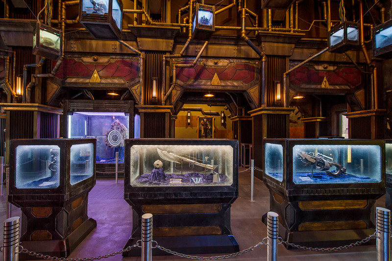 """Guardians of the Galaxy–Mission: BREAKOUT! — Guests will discover artifacts from the Super Hero universe as they tour the Tivan Collection as part of the Guardians of the Galaxy – Mission: BREAKOUT! attraction at Disney California park. The epic new adventure blasts guests straight into the """"Guardians of the Galaxy"""" story for the first time, alongside characters from the blockbuster films and comics.  (Joshua Sudock/Disneyland Resort)"""