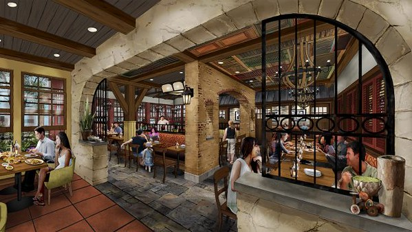 Terralina Crafted Italian coming to Disney Springs in 2018