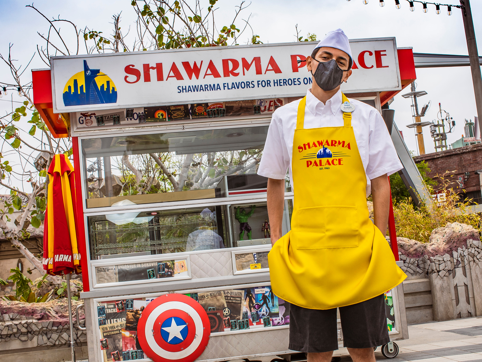 Avengers Campus Cast Members Costumes – Shawarma Palace