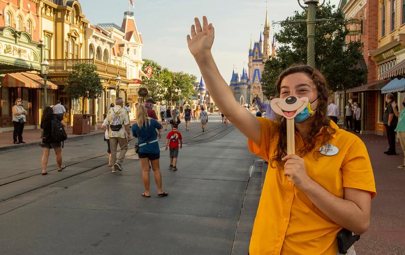 Magic Kingdom Reopening