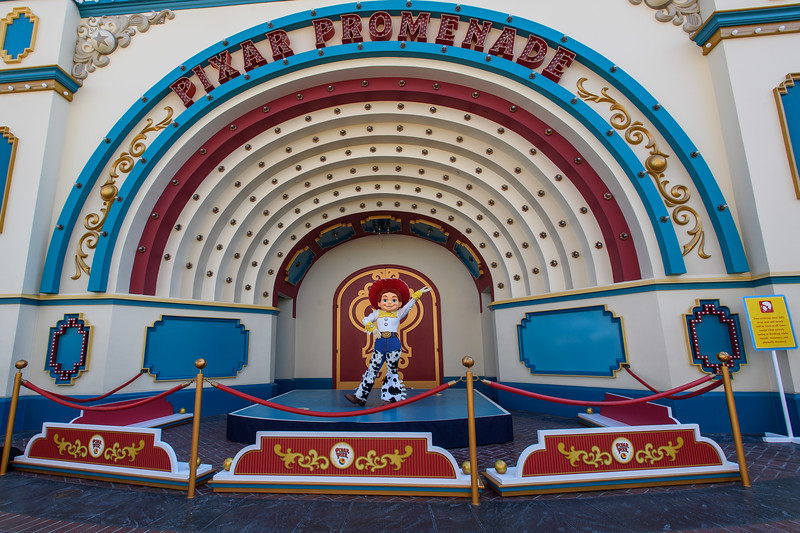 Magic Returns to Disneyland Resort Theme Parks - Jessie at Disney California Adventure Park