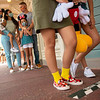 Ground Markings Support Physical Distancing at Walt Disney World Resort Theme Parks