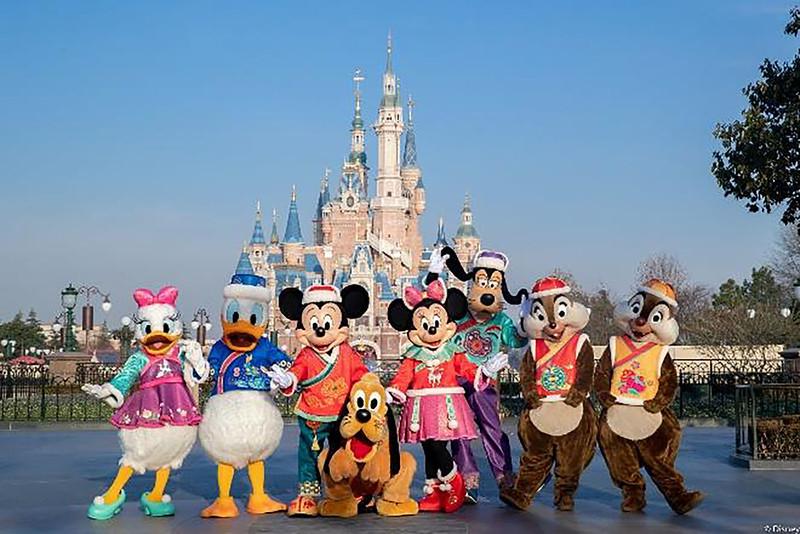 Shanghai Disney Resort 2021 A Spring Festival Spectacular Lunar New Year (3)