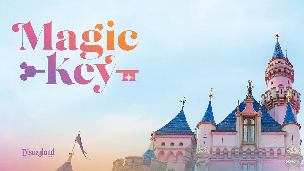 magic key disneyland resort logo