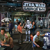 Star Wars Launch Bay Coming to Disneyland Resort and Walt Disney World Resort -- This interactive experience will take guests into the upcoming film, Star Wars: The Force Awakens, with special exhibits and peeks behind the scenes, including opportunities to visit with new and favorite Star Wars characters, special merchandise and food offerings.  Star Wars Launch Bay will be located in the Animation Courtyard at Disney's Hollywood Studios and in Tomorrowland at Disneyland park. (Disney Parks)