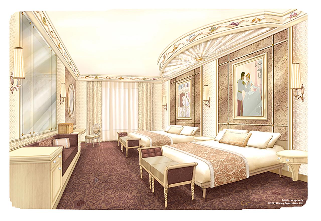 Disneyland Paris hotel rennovations princess theme